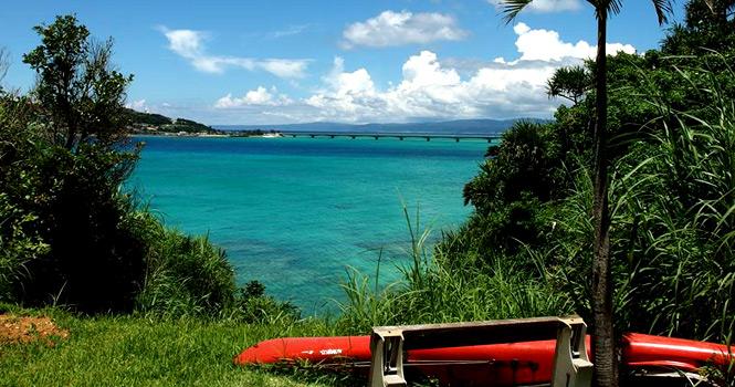 魂喜村 海辺の景色